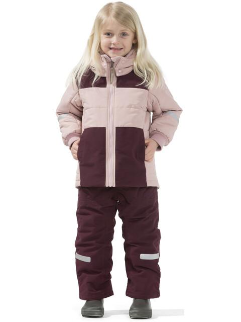 Didriksons 1913 Ris Jacket Kids Dusty Pink